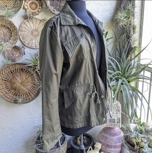 Boutique Olive Green Jacket Junior XL